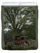 1931 Ford Model A Final Resting Place Duvet Cover