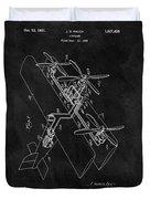 1931 Plane Patent Duvet Cover