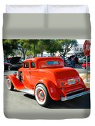 1932 Ford  5 Window Coupe Duvet Cover