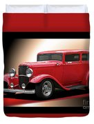 1932 Ford 'cherry Bomb' Sedan Duvet Cover