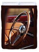 1932 Ford Hot Rod Steering Wheel 2 Duvet Cover