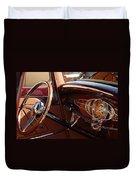 1932 Ford Hot Rod Steering Wheel 3 Duvet Cover