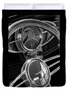 1932 Ford Hot Rod Steering Wheel 4 Duvet Cover