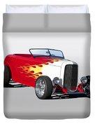 1932 Ford 'hot Stuff' Roadster Duvet Cover