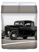 1932 Ford 'louvered' Coupe Duvet Cover