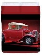 1932 Ford 'rag Top' Roadster Duvet Cover