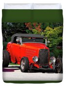 1932 Ford 'ragtop' Roadster Duvet Cover