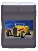 1932 Ford Roadster 'hiboy' Duvet Cover