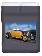 1932 Ford Roadster 'pass Side' L Duvet Cover
