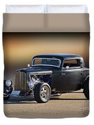 1932 Ford 'silky Satin' Coupe I Duvet Cover