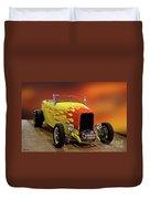 1932 Ford 'sunset' Studio' Roadster Duvet Cover