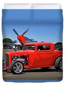 1932 Ford 'three Window' Coupe Vx Duvet Cover