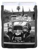 1932 Ford V8 July 4th Parade Tucson Arizona 1986 Duvet Cover