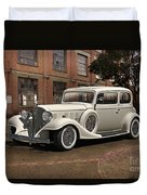 1933 Buick Victoria 'bootleg Beauty' Duvet Cover