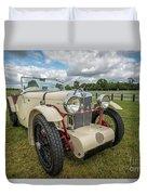 1933 Mg Sports Car Duvet Cover
