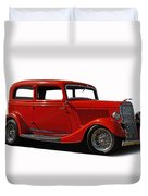 1934 Ford 2 Door Sedan Duvet Cover