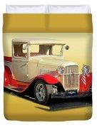 1934 Ford '49'er' Pickup Duvet Cover