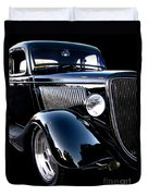 1934 Ford Coupe Duvet Cover