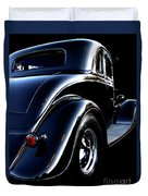 1934 Ford Coupe Rear Duvet Cover