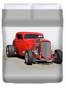1934 Ford 'mean And Nasty' Coupe Duvet Cover