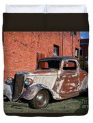 1934 Ford 'patina Plus' Coupe Duvet Cover