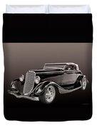 1934 Ford Roadster Duvet Cover