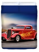1934 Ford 'three Window' Coupe I Duvet Cover