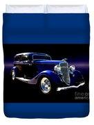 1934 Ford Tudor Sedan Duvet Cover
