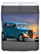 1934 Ford Victoria II Duvet Cover