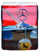 1934 Mercedes Benz 500 K Roadster Duvet Cover
