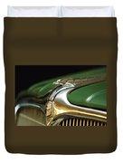 1934 Nash Ambassador 8 Hood Ornament Duvet Cover