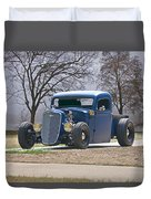 1935 Chevrolet 'hot Rod' Pickup Duvet Cover