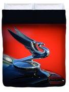 1935 Chevrolet Sedan Hood Ornament -0116c Duvet Cover