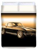1965 Corvette Stingray Duvet Cover
