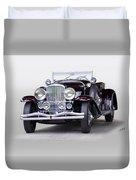 1935 Duesenberg Sj Roadster Duvet Cover
