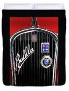 1935 Fiat Balilla Sport Spider Grille Duvet Cover