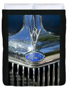 1935 Ford V8 Hood Ornament 2 Duvet Cover