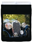 1935 Triumph Southern Cross Front Grill Duvet Cover