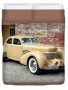 1936 Cord Duvet Cover
