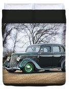 1936 Ford Deluxe Sedan I Duvet Cover