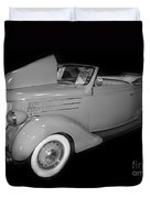 1936 Ford Rumble Seat Cabriolet  Duvet Cover