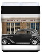 1936 Plymouth Business Coupe II Duvet Cover