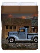 1937 Chevy Pickup Truck Duvet Cover