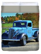 1937 Chevy Truck Duvet Cover