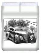 1937 Ford Sedan Duvet Cover