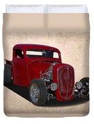 1937 Ford Truck Duvet Cover