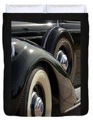 1937 Lincoln K Brunn Abstract Duvet Cover