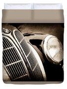 1938 Bmw 327-8 Cabriolet Grille Emblem -1526s Duvet Cover