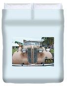1938 Buick 2087 Duvet Cover