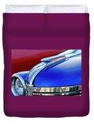 1938 Chevrolet Hood Ornament 2 Duvet Cover